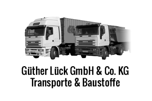 G&uuml;nther L&uuml;ck GmbH & Co. KG<br>Transporte und Baustoffe